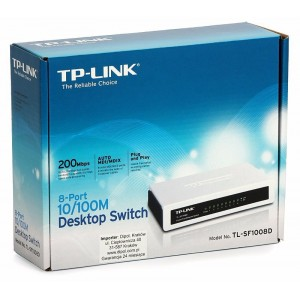 DESKTOP SWITCH TP-LINK 8-PORT 10/100MBPS TL-SF1005D